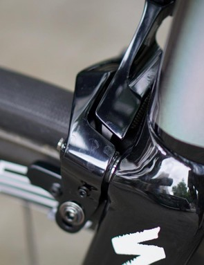 Specialized moved to direct-mount brakes for the latest Tarmac