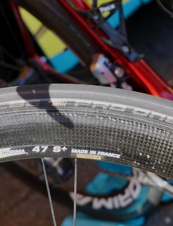 Astana races on Schwalbe