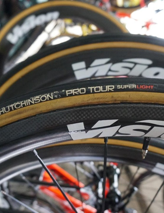 Direct Energie uses Hutchinson tires