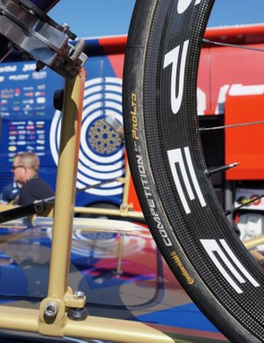 Continental has long made the peloton's most popular tubulars