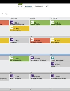 TrainingPeaks is a handy tool for both plotting out training in the micro and macro level and charting progress as you go