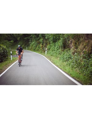 On fast, sweeping descents, we found the steering could become a little livelier than expected