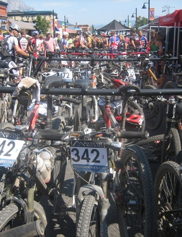 The bikes' work is done for another year