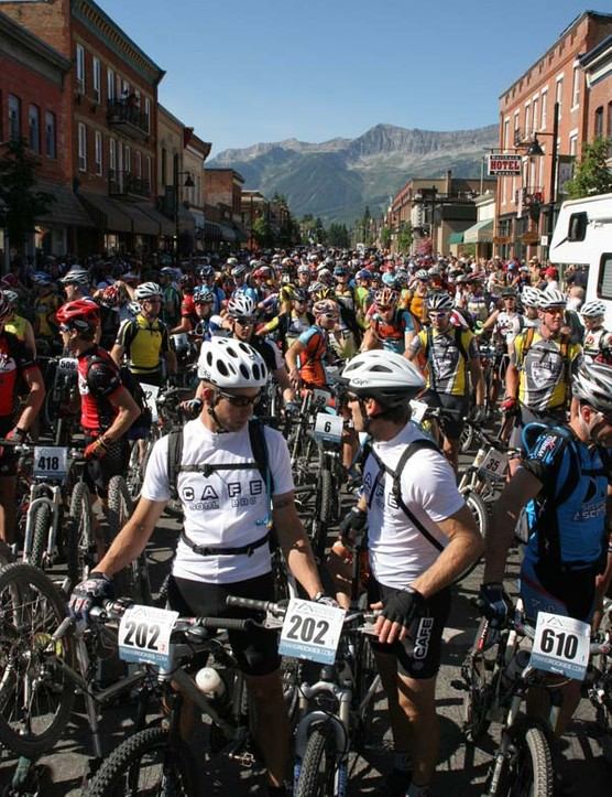 Ready to go - the start of the 2006 TransRockies