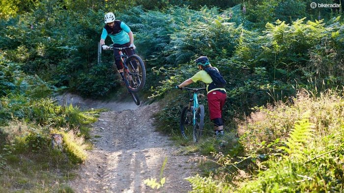 Mountain bikers aren't immune from the perceived fashion and style pecking order