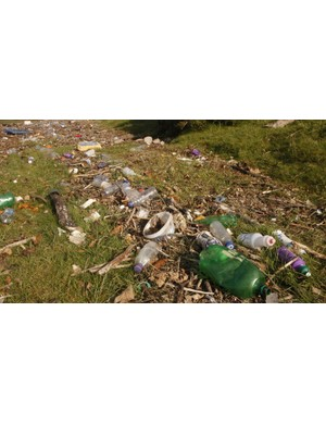 We hate to break it to you, but litter picking trail pixies don't exist. If you brought it, you can bring it back home with you