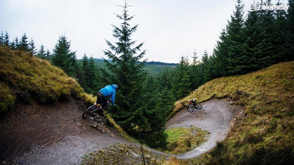 Trail centres are a good place to head if your local trails are a total mud-fest