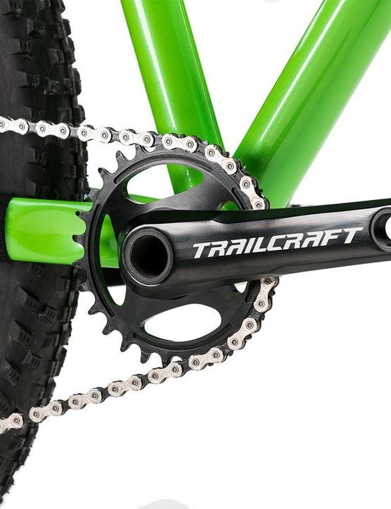 All of Trailcraft's complete bikes come with 152mm crankarms