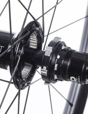 The new hubs offer a 4.3-degree engagement angle