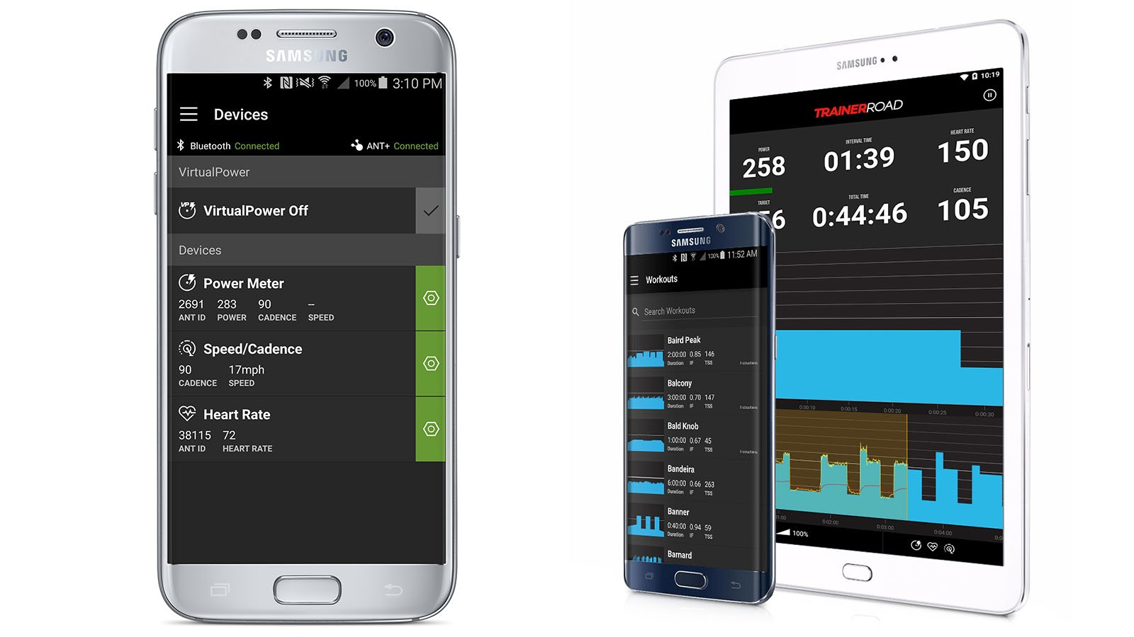 TrainerRoad works on Android, iOS, Mac and PC