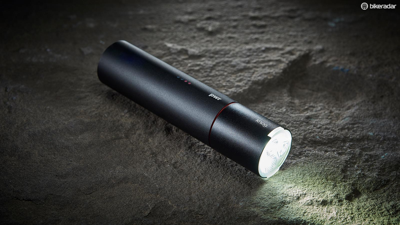 Knog's PWR lights are changeable