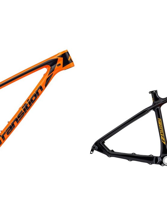 The Vanquish 29 and Throttle 27.5 share a number of frame features