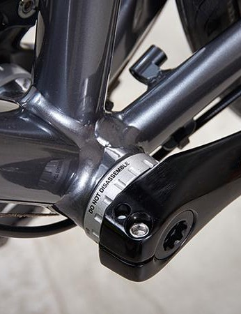 There's a neat little braze-on 'bridge' if you want to fit a rear mudguard