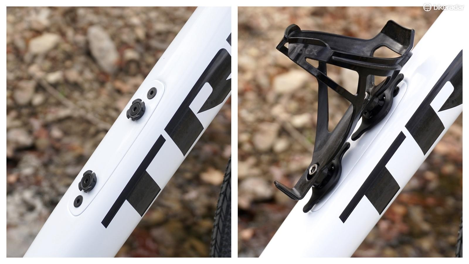 Clever indeed — the bespoke 'CrossLock' bottle cage system means easy-on, easy-off for hydration