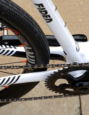 Trek has done an awesome job with industrial design and engineering — clean aesthetics are highlighted with a single-ring setup (sans chain guide)