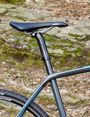 Like the previous edition of the Boone, Trek employs the IsoSpeed 'decoupler' technology to the seat tube