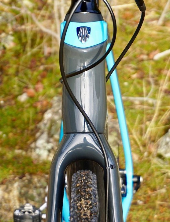 The Boone fork will clear a 40mm tire, but if tire clearance is your main priority there are more roomy bikes available