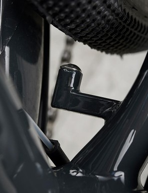 Mudguard mounts make the bike all-weather ready