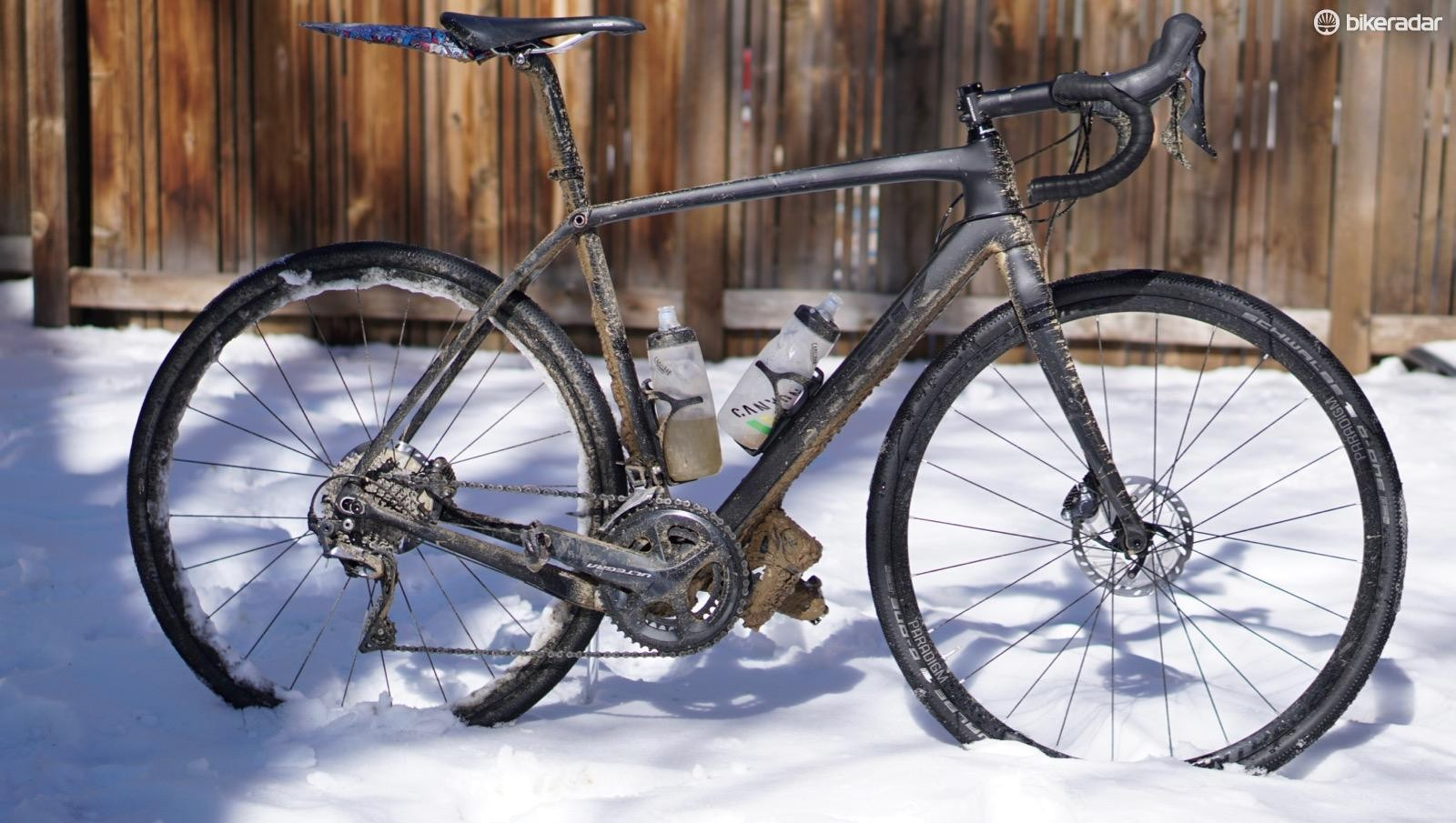 Ready for rowdy road riding: Trek's new Checkpoint SL 6