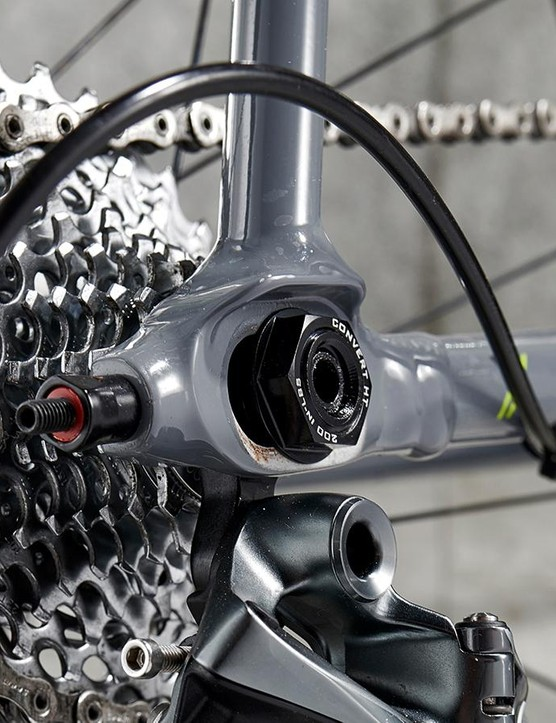 Trek's Stanglehold dropouts allow you to fine-tune your geometry