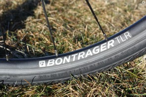 While the Bontrager wheels on the Domane are nothing exceptional, the fact that they are tubeless ready was much appreciated