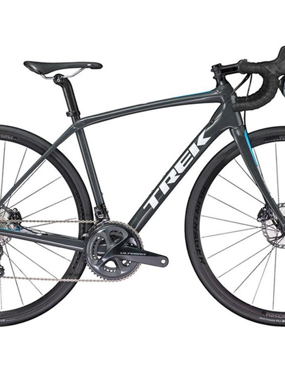 Comfort, yes, but also performance from the Trek Domane SL 6 Women's road bike