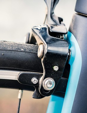 Direct-mount 105 brakes sort stopping