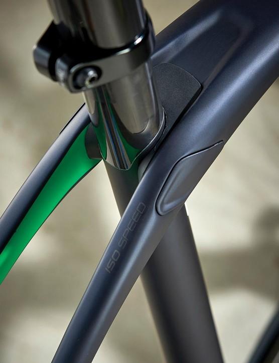 Rear IsoSpeed decoupler enhances the Domane's comfort factor