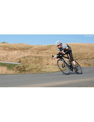 The Domane encourages you to attack descents with confidence