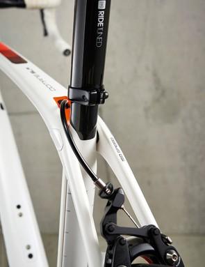 The radical rear IsoSpeed decoupler is now adjustable