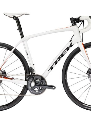 The new Trek Domane SLR has bump-smoothing technology in the front of the bike now as well as the rear
