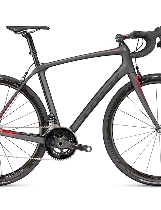 I tested a 56cm Trek Domane SLR 9 eTap, which weighed in at an impressive 6.71kg