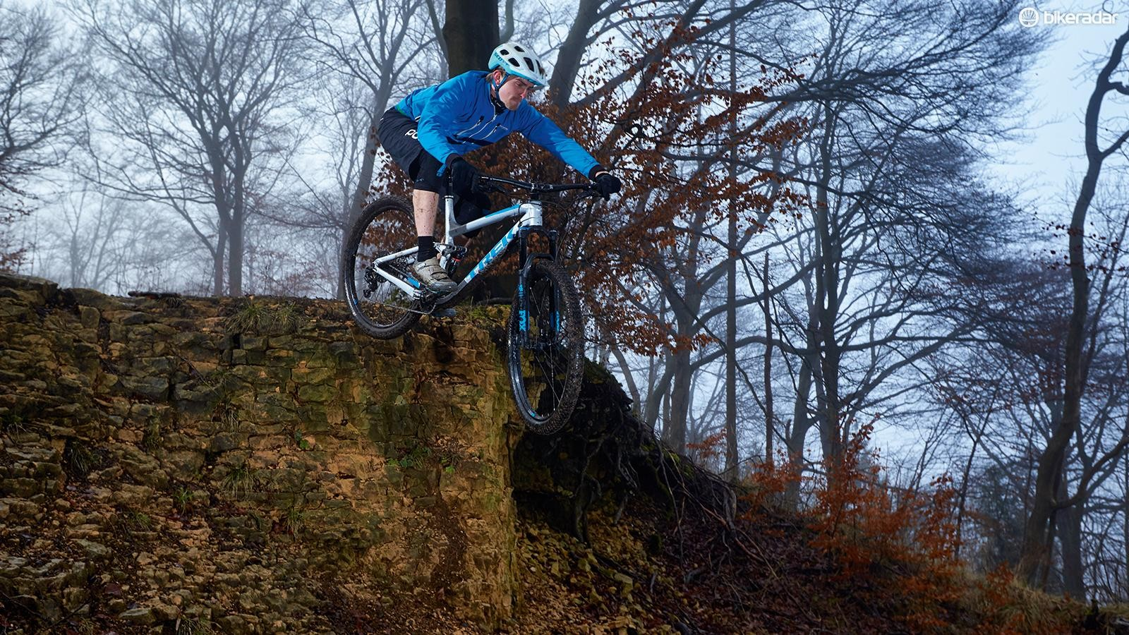 Trek's RE:aktiv damping tune resists pedalling forces but opens up to absorb big bumps