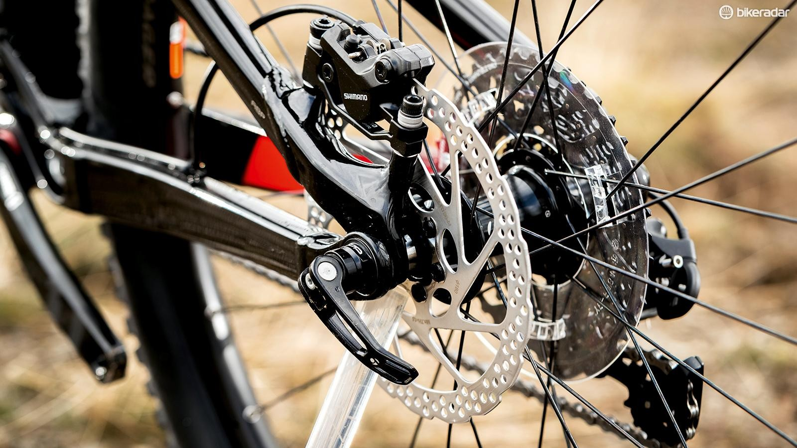 Boost spacing lets you add wider tyres or a bigger chainring
