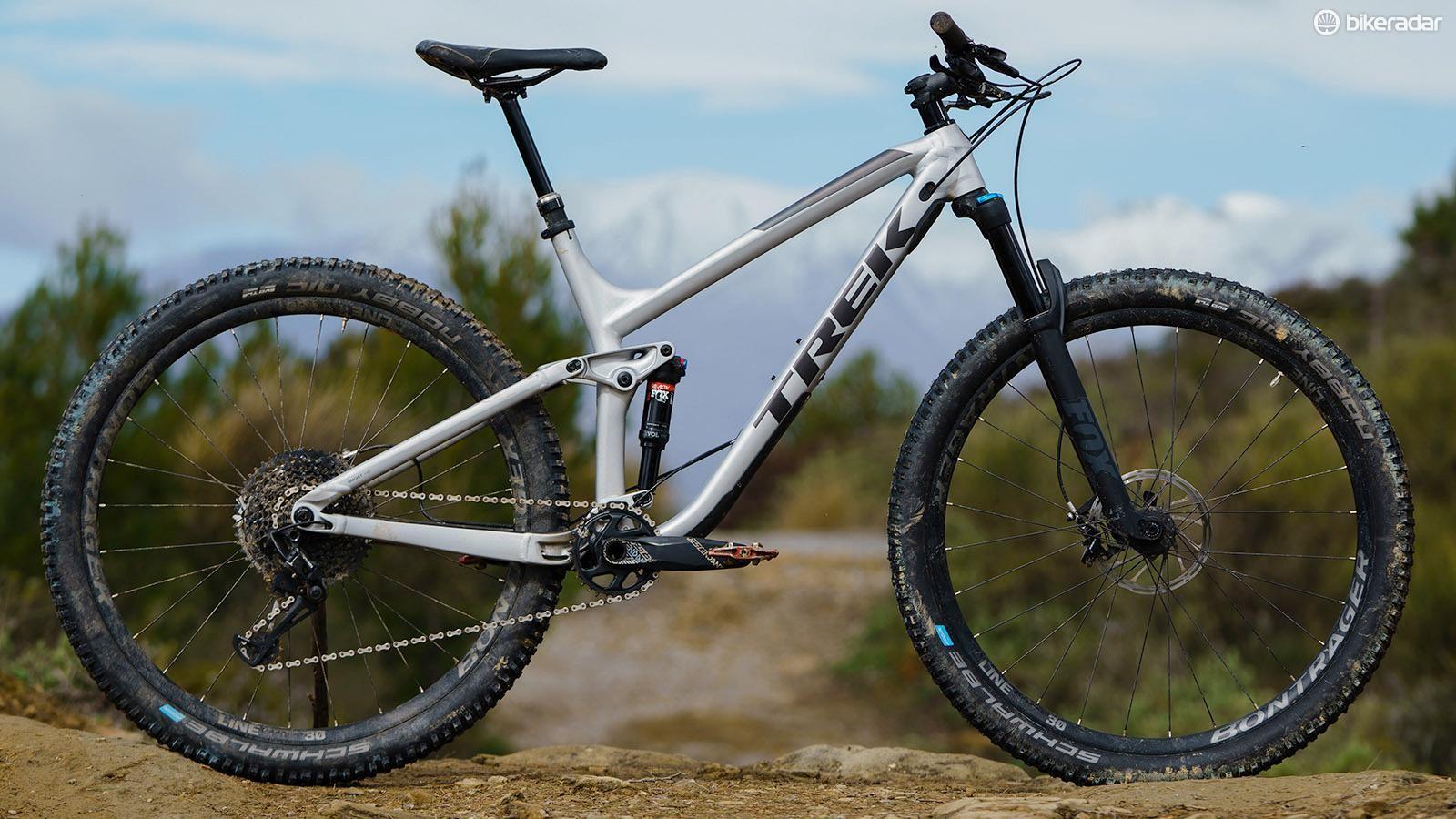The Trek Fuel EX 8 29 is a rip-roaring trail bike