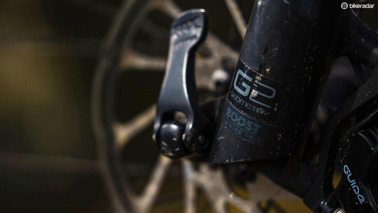 Trek was one of the first to experiment with fork offset when it came to 29in wheels