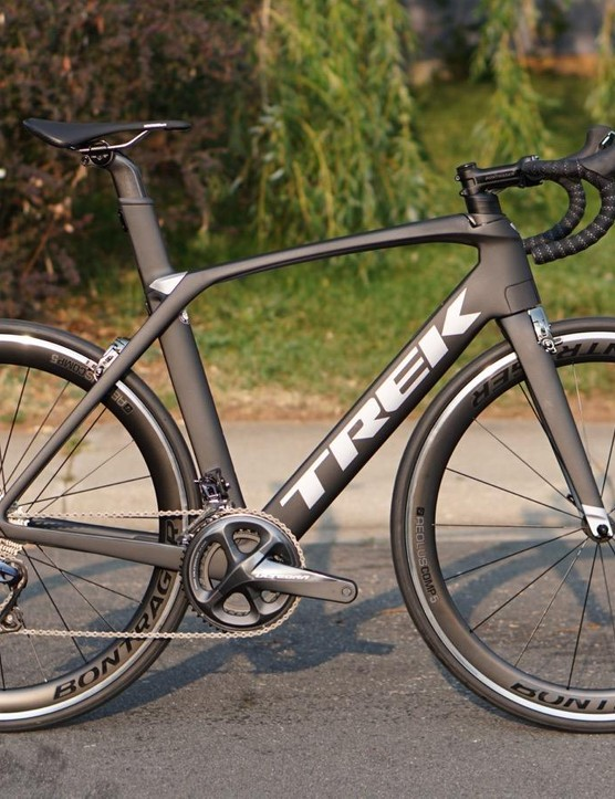 The Trek Madone 9.0 is the most affordable new Madone yet - and the one with the most adjustable cockpit