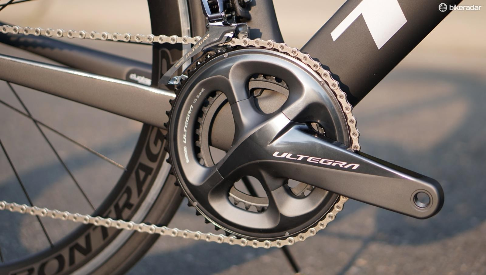 Racers interested in the Madone 9.0 might want to swap out the compact 50/34 crank