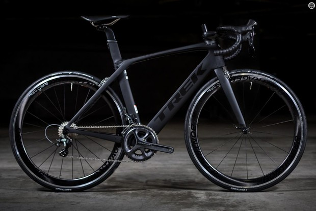 Trek's Madone 9.2 is the cheapest build available of the new frame design