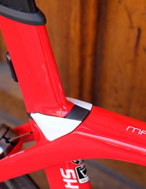 Another angle on the IsoSpeed rear end, which provides almost unparalleled levels of comfort for an aero machine