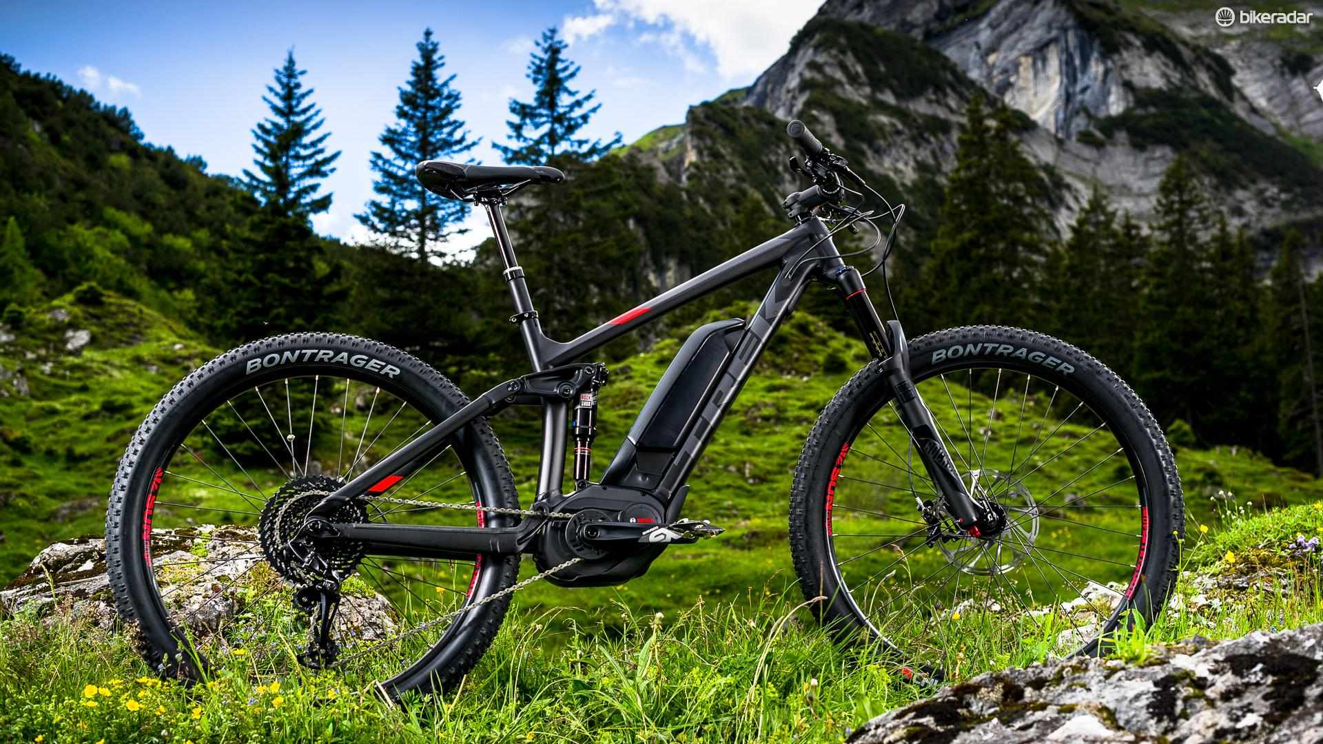 Trek's updated Powerfly FS 9 is an ideal machine for big days out –provided you nurse the battery charge