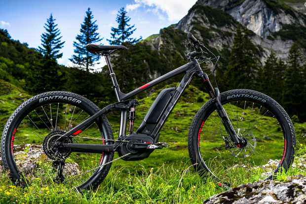 Trek's updated Powerfly FS 9 is an ideal machine for big days out – provided you nurse the battery charge