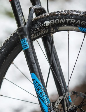 Skinny 1.9in tyres save weight but dilute the smooth feel of the frame