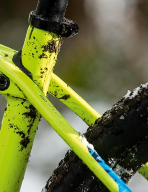 The IsoSpeed coupling allows the seat tube to move independently of the rest of the frame