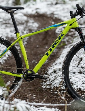 It may look like a hardtail, but Trek's IsoSpeed tech adds a welcome bit of comfort