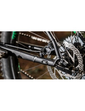 Rear rack mounts are a bonus if you commute by bike or want to give bikepacking a go
