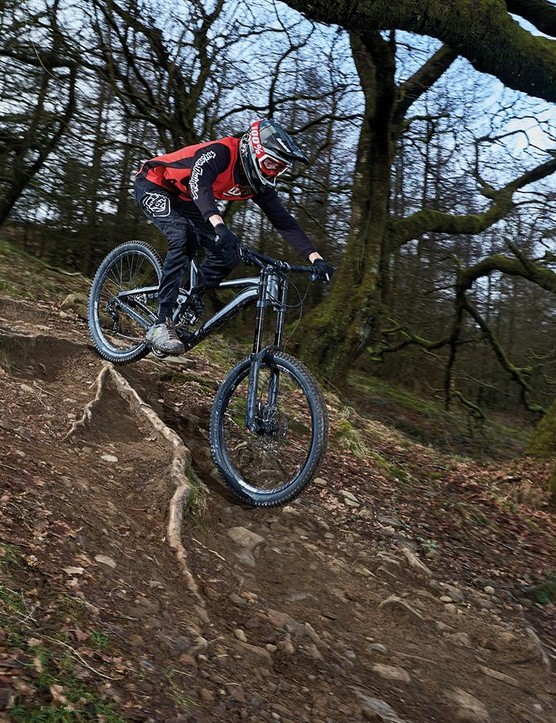 Trek's ABP/Full Floater suspension offers a supple ride