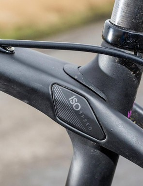 The Silque shares Trek's unique IsoSpeed technology, which allows the seatpost to pivot, with its Domane unisex sibling