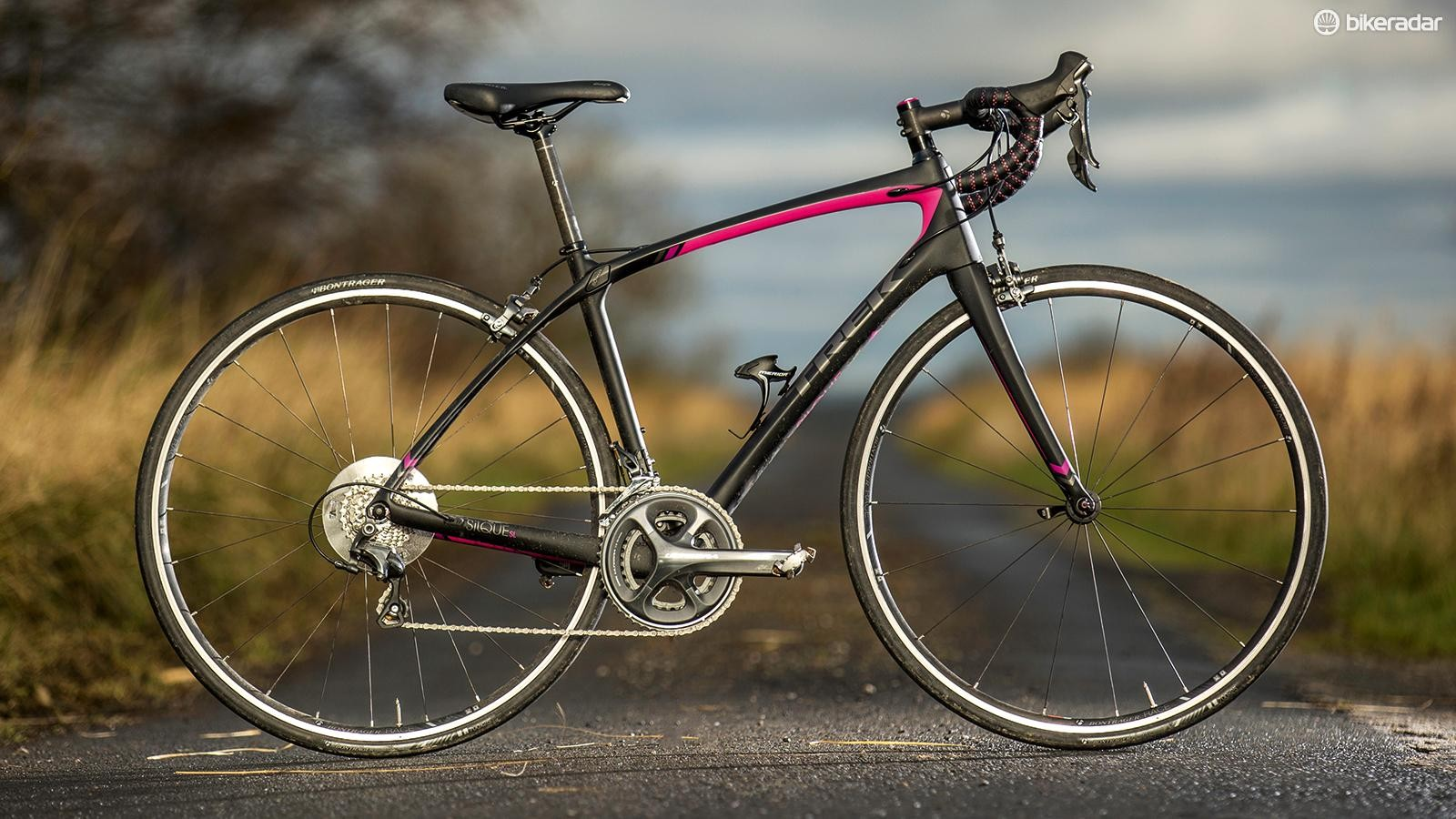 Trek's Silque SL is pretty much peerless when it comes to rapid, comfortable mile-munching