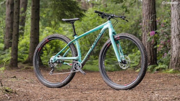 Fully rigid with monster rubber, Trek's Stache takes a unique approach with 29in plus tires